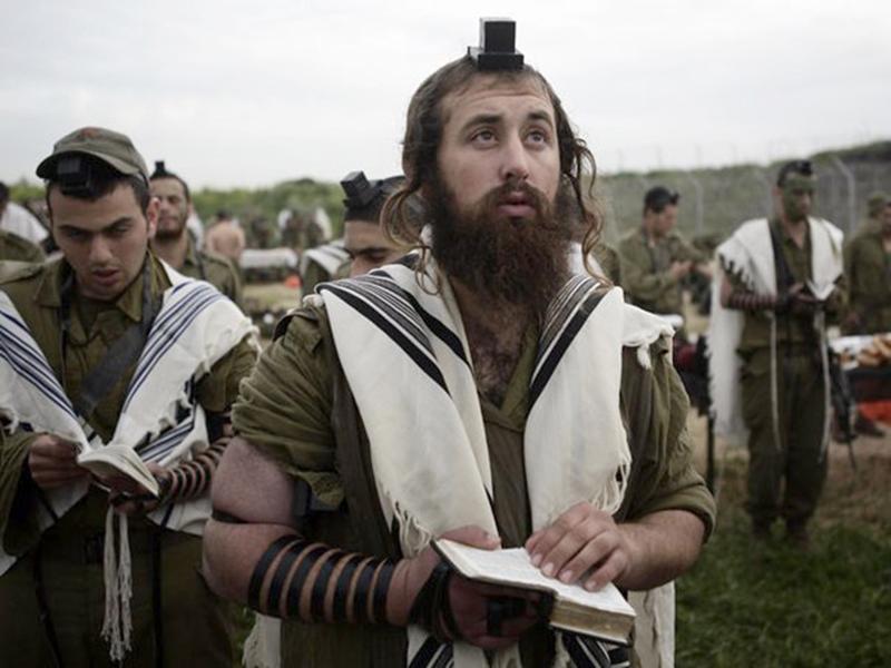 Image result for харедим религиозный солдат